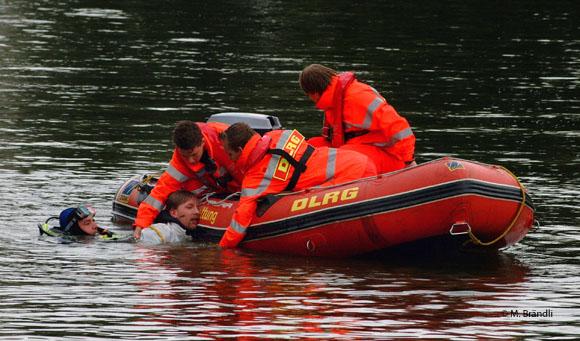 DLRG WRD 10/04 Wasserrettung Rettungstaucher Einsatztaucher