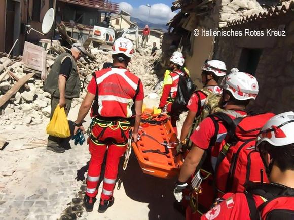 Erdbeben in Italien - 2016