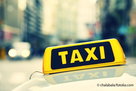 Taxiunfall in Hamburg