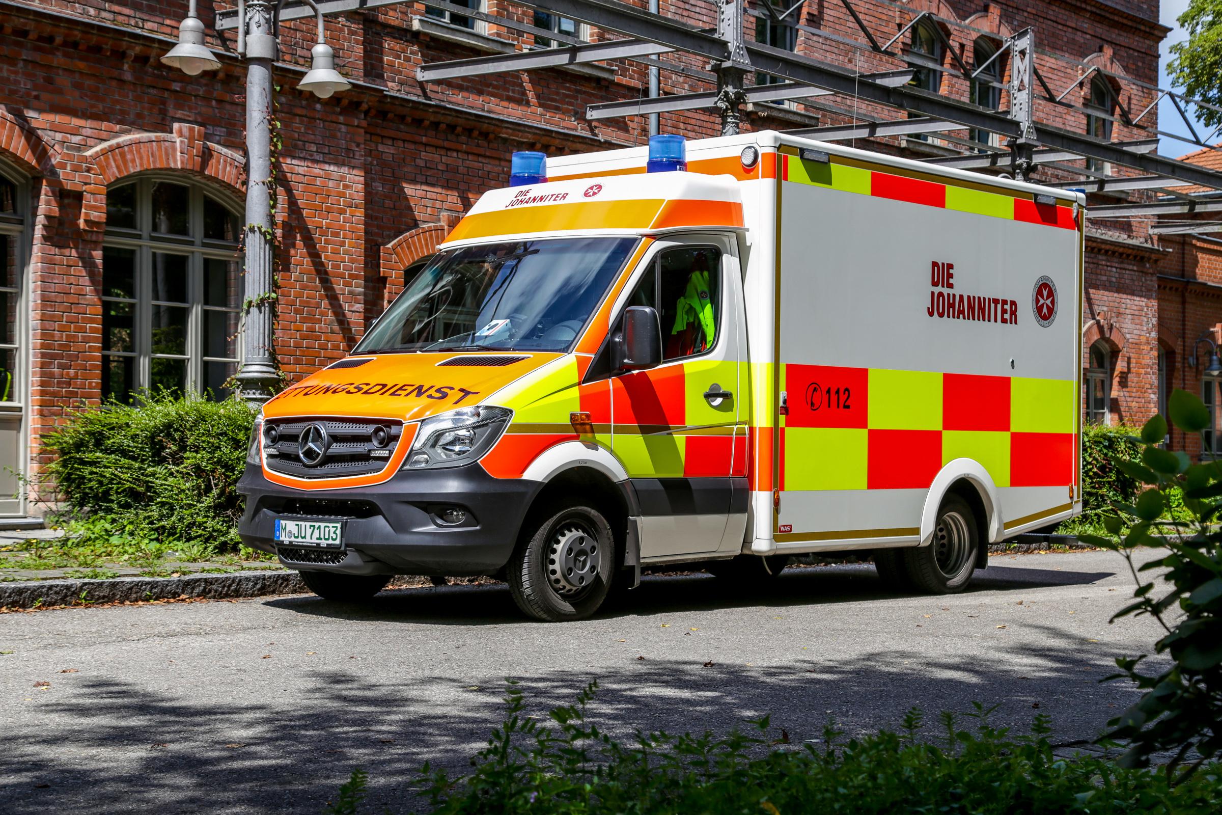 München Sendling Johanniter Verstärken Notfallrettung
