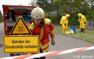 Achtung Gefahr Schild