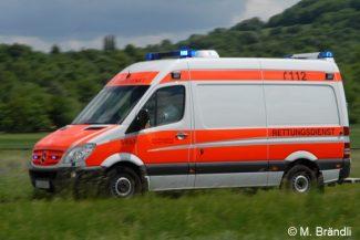 Symboldbild Rettungswagen