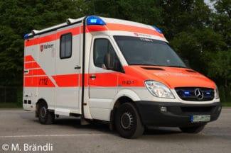 Rettungswagen Symbolfoto