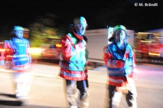 Symbolfoto Rettungsdienst bei Verkehrsunfall