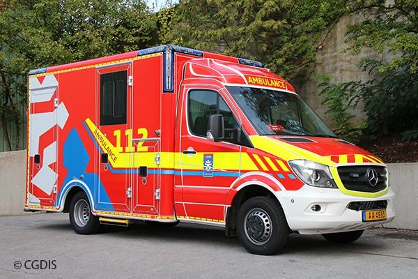 Rettungswagen RTW Luxemburg CGDIS
