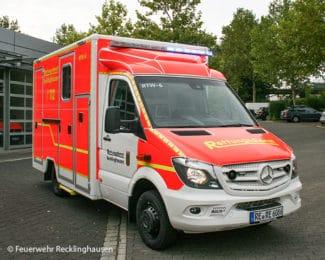 Rettungswagen der Feuerwehr Recklinghausen