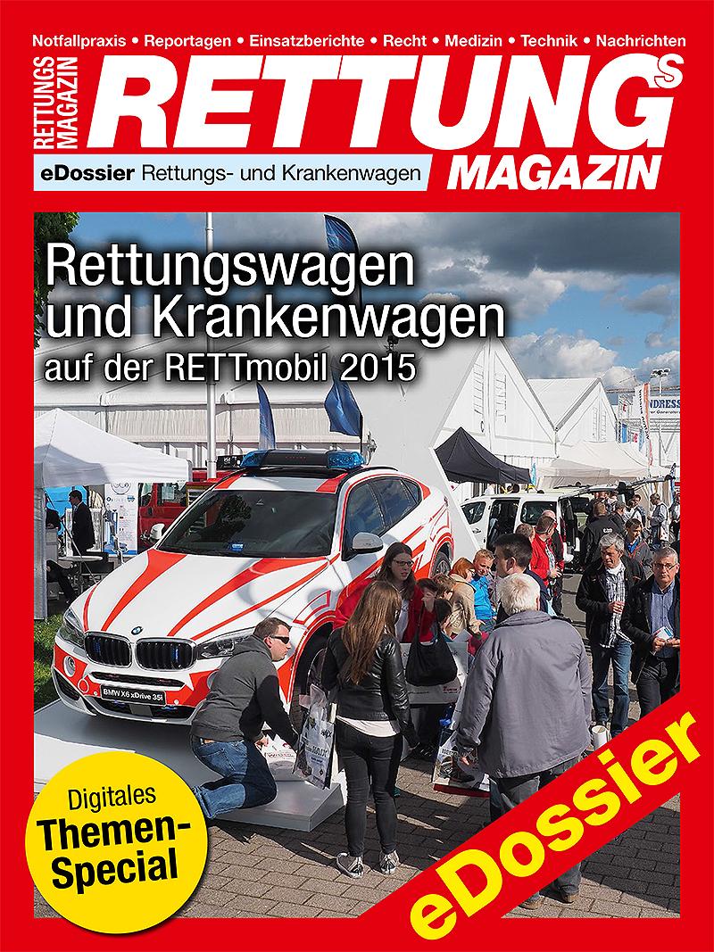 Produkt: Download Rettungswagen und Krankenwagen auf der RETTmobil 2015