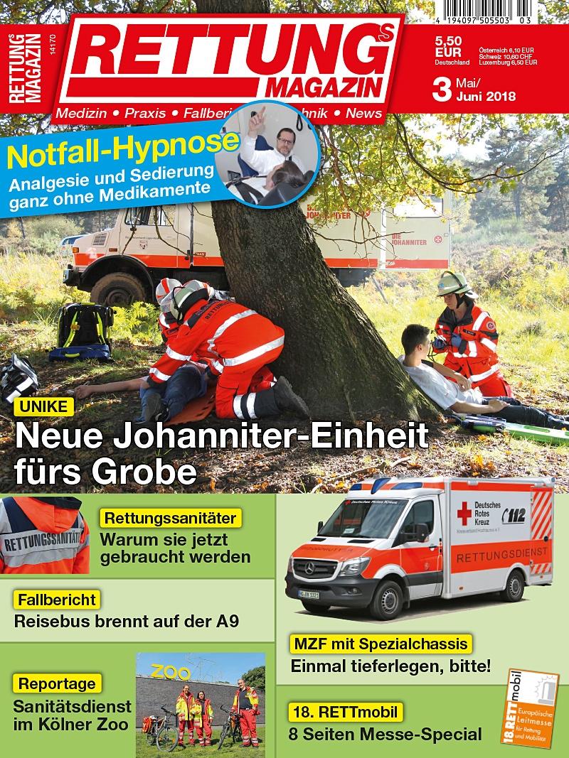 Produkt: Rettungs-Magazin 3/2018 Digital