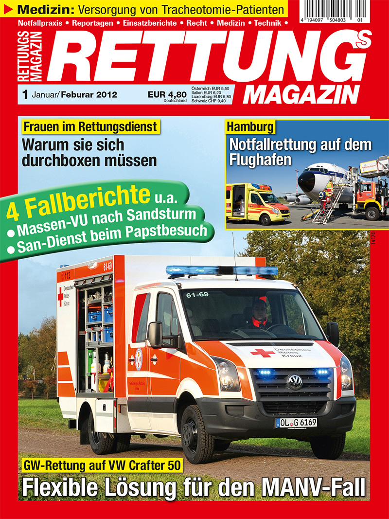 Produkt: Rettungs-Magazin Digital 1/2012