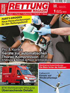 Produkt: Rettungs-Magazin Digital 1/2013