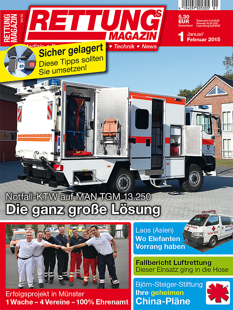 Produkt: Rettungs-Magazin Digital 1/2015