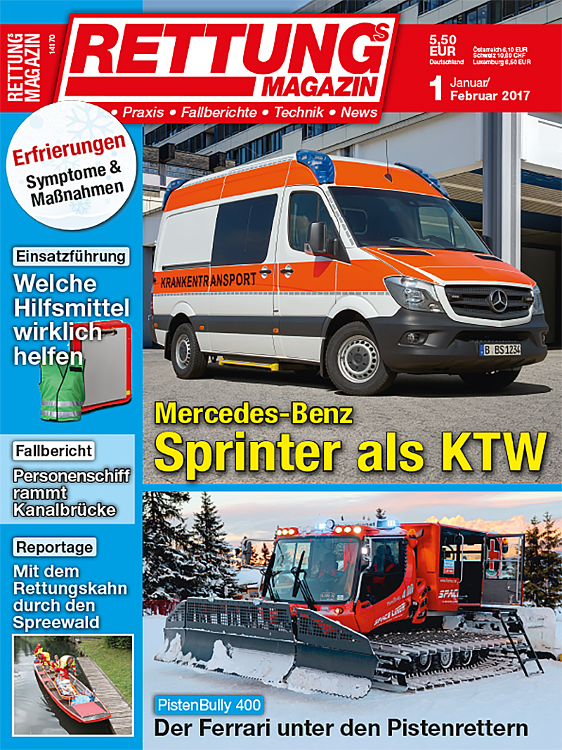 Produkt: Rettungs-Magazin Digital 1/2017
