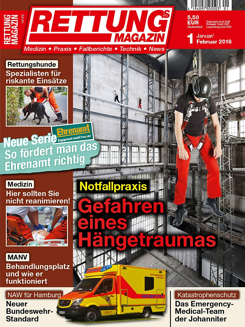 Produkt: Rettungs-Magazin Digital 1/2018