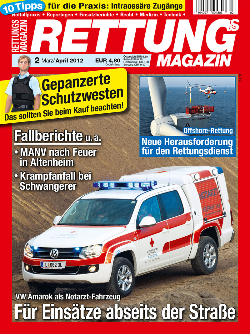 Produkt: Rettungs-Magazin Digital 2/2012