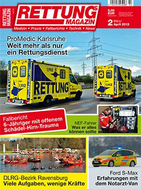 Produkt: Rettungs-Magazin Digital 2/2013