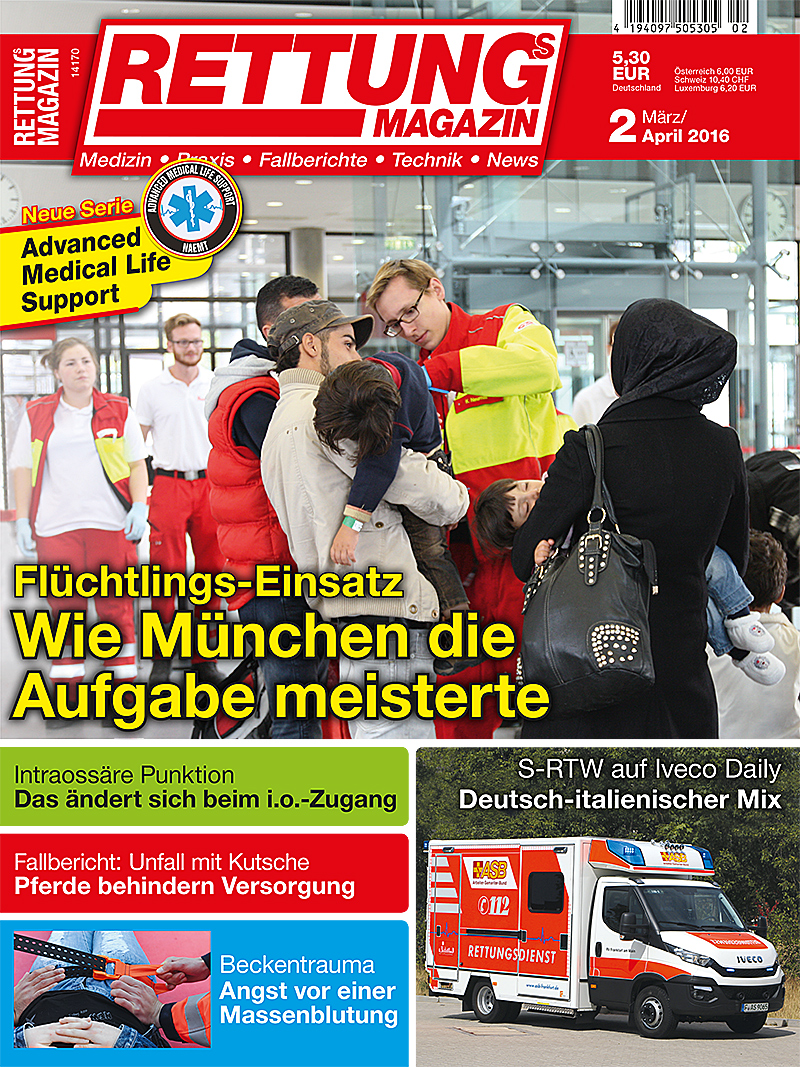 Produkt: Rettungs-Magazin Digital 2/2016