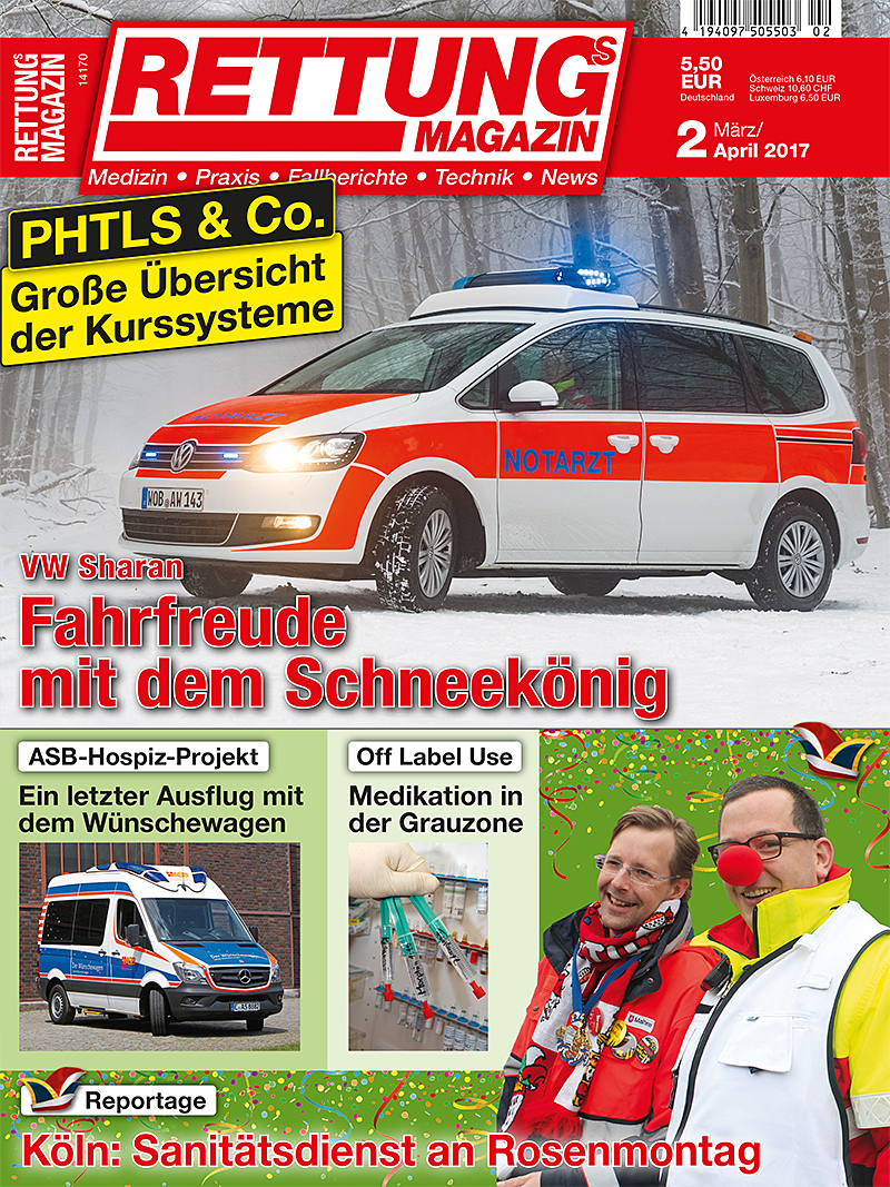 Produkt: Rettungs-Magazin Digital 2/2017