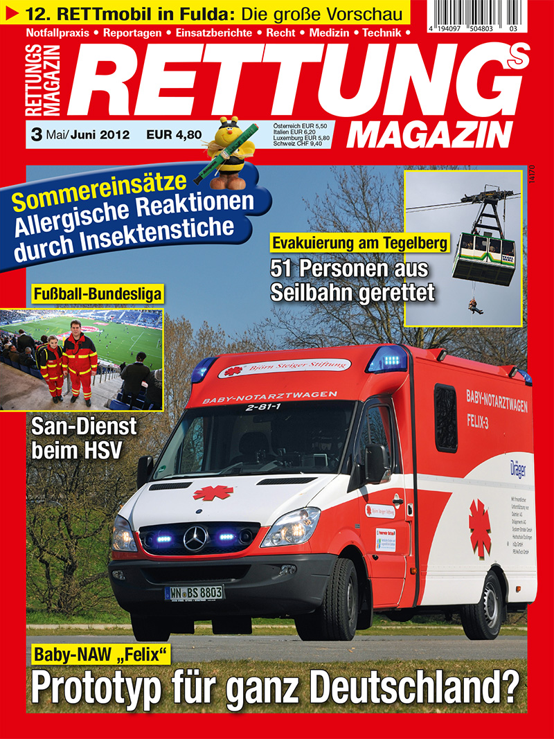 Produkt: Rettungs-Magazin Digital 3/2012