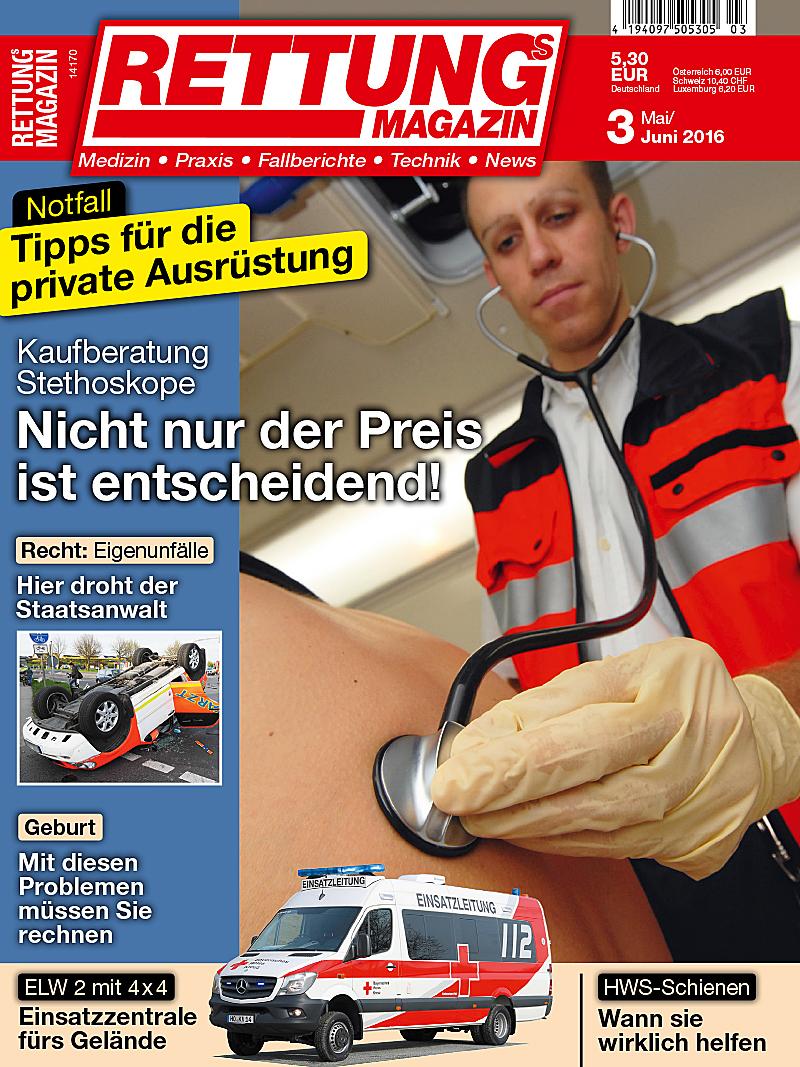 Produkt: Rettungs-Magazin Digital 3/2016