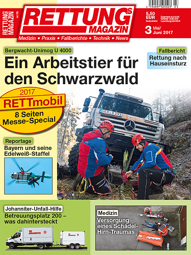 Produkt: Rettungs-Magazin Digital 3/2017
