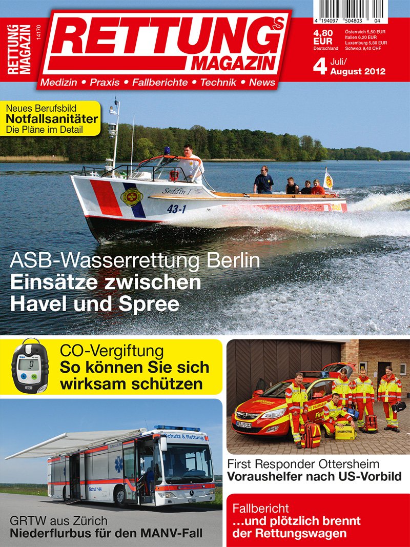 Produkt: Rettungs-Magazin Digital 4/2012