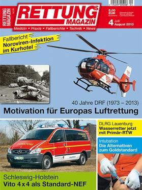 Produkt: Rettungs-Magazin Digital 4/2013