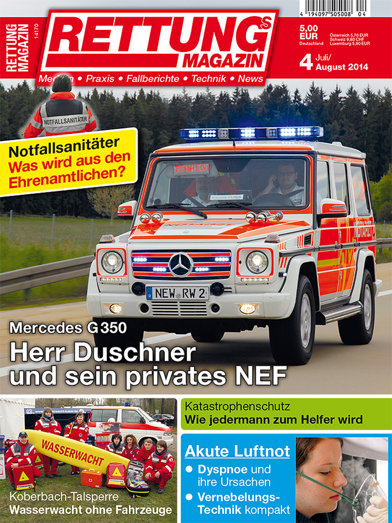 Produkt: Rettungs-Magazin Digital 4/2014