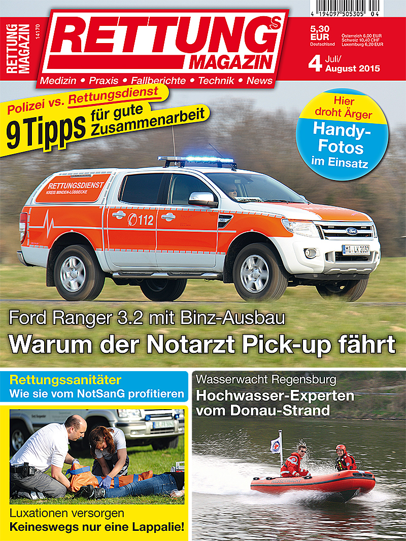 Produkt: Rettungs-Magazin Digital 4/2015