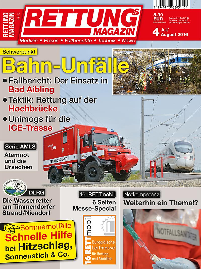 Produkt: Rettungs-Magazin 4/2016 Digital