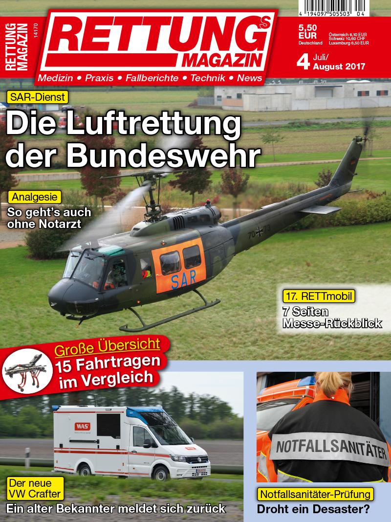 Produkt: Rettungs-Magazin Digital 4/2017