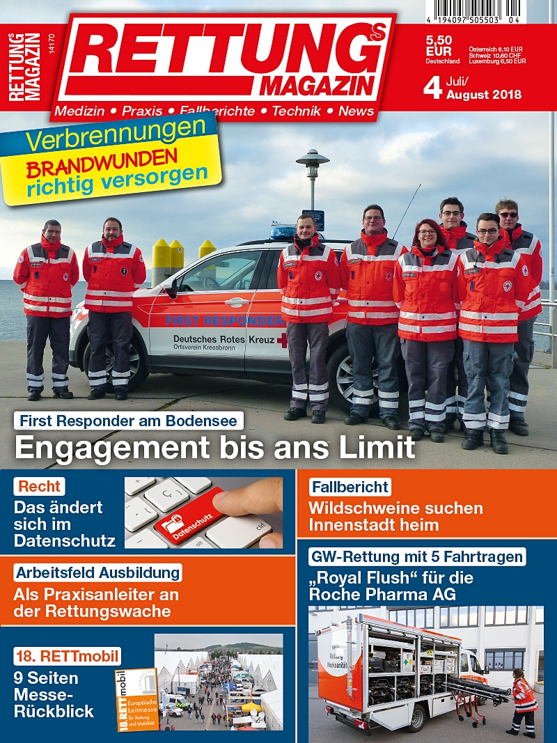 Produkt: Rettungs-Magazin Digital 4/2018