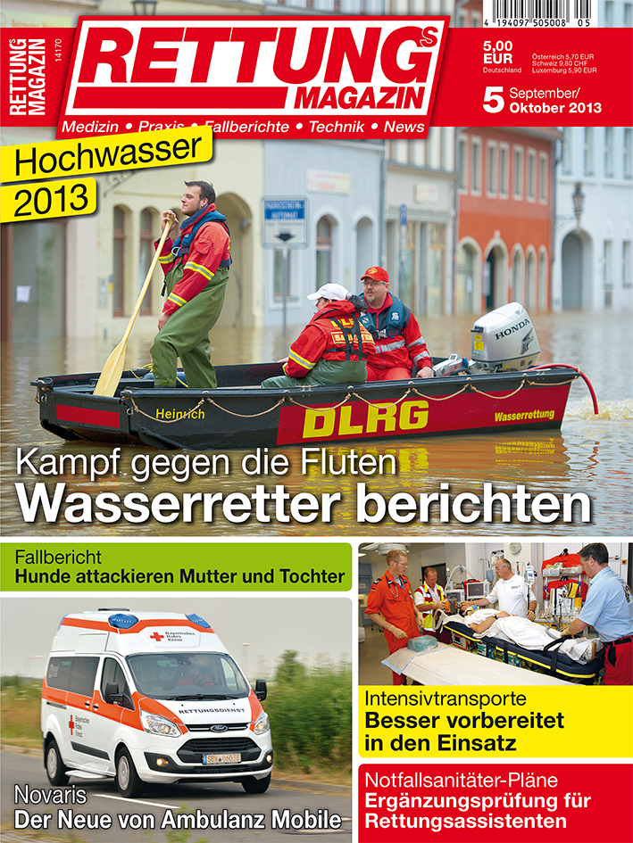 Produkt: Rettungs-Magazin Digital 5/2013