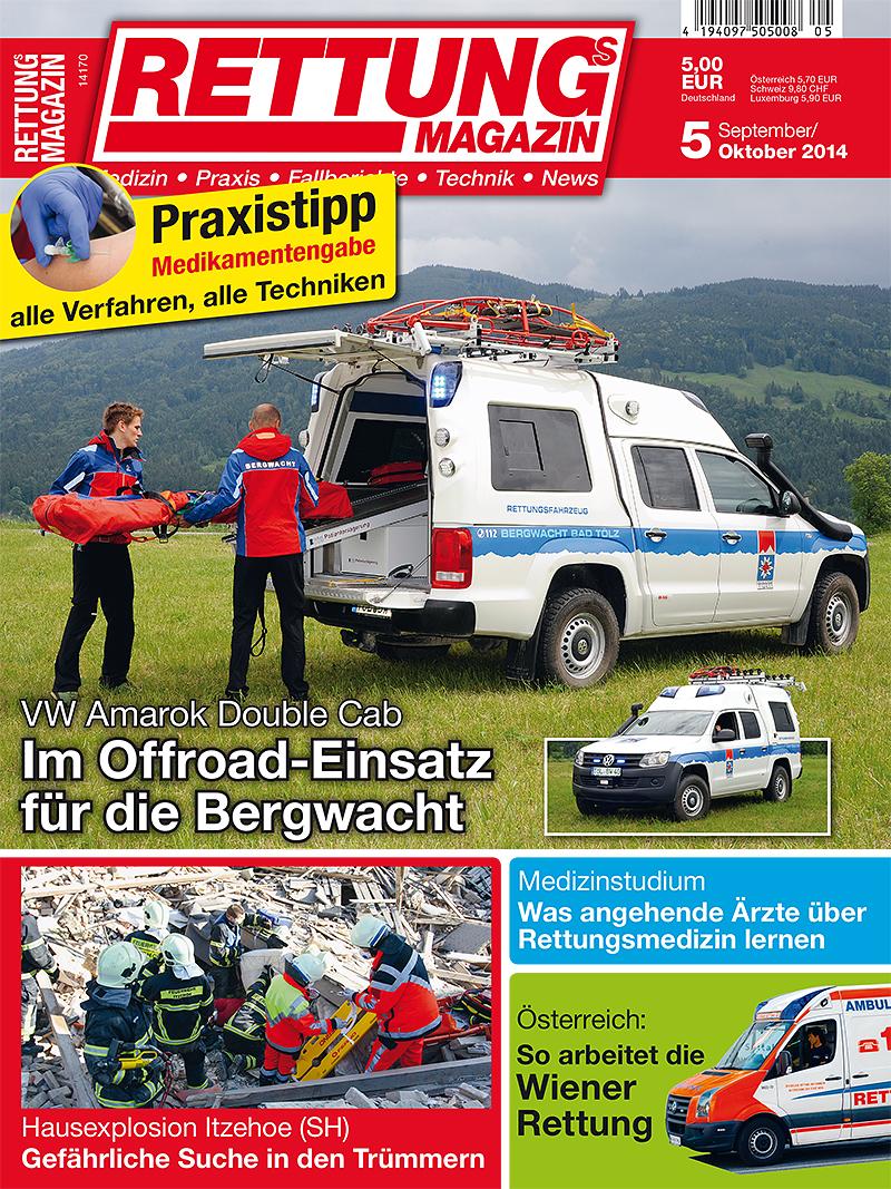Produkt: Rettungs-Magazin Digital 5/2014