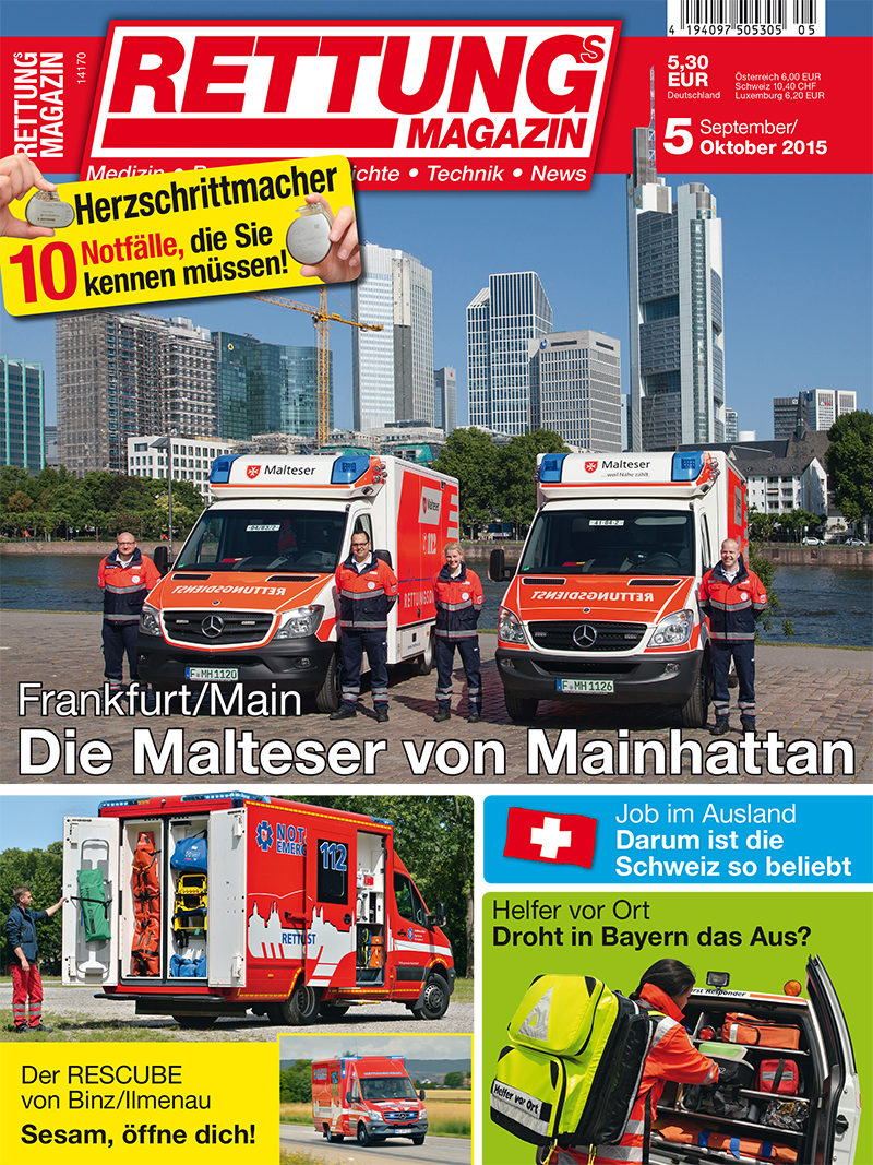 Produkt: Rettungs-Magazin Digital 5/2015