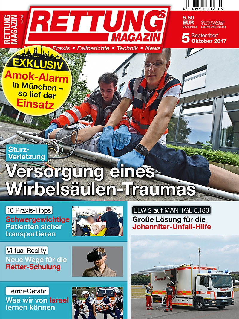 Produkt: Rettungs-Magazin Digital 5/2017