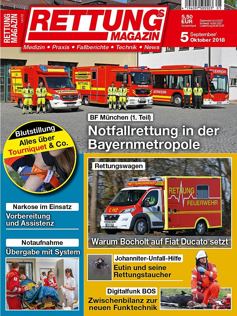 Produkt: Rettungs-Magazin 5/2018