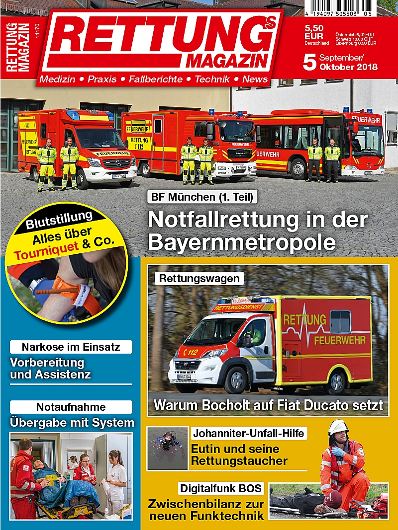 Produkt: Rettungs-Magazin 5/2018 Digital