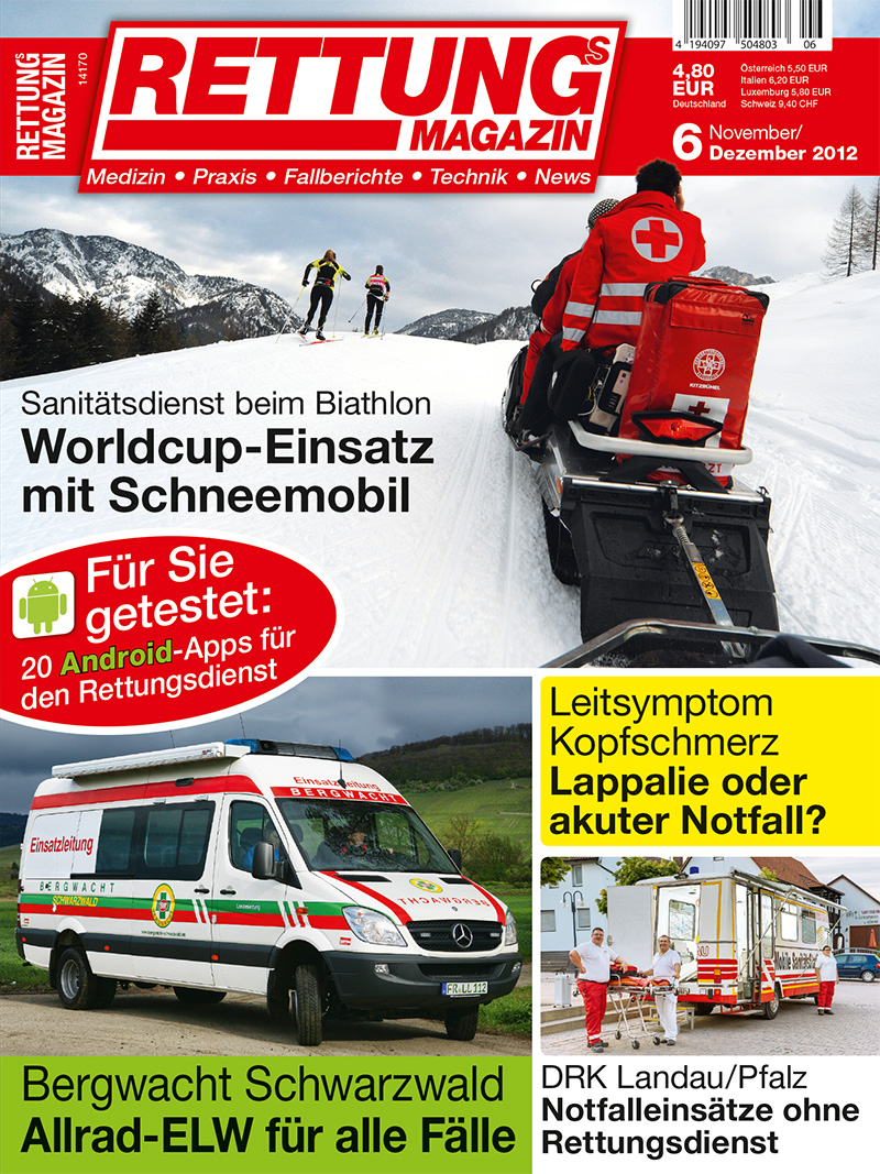 Produkt: Rettungs-Magazin Digital 6/2012