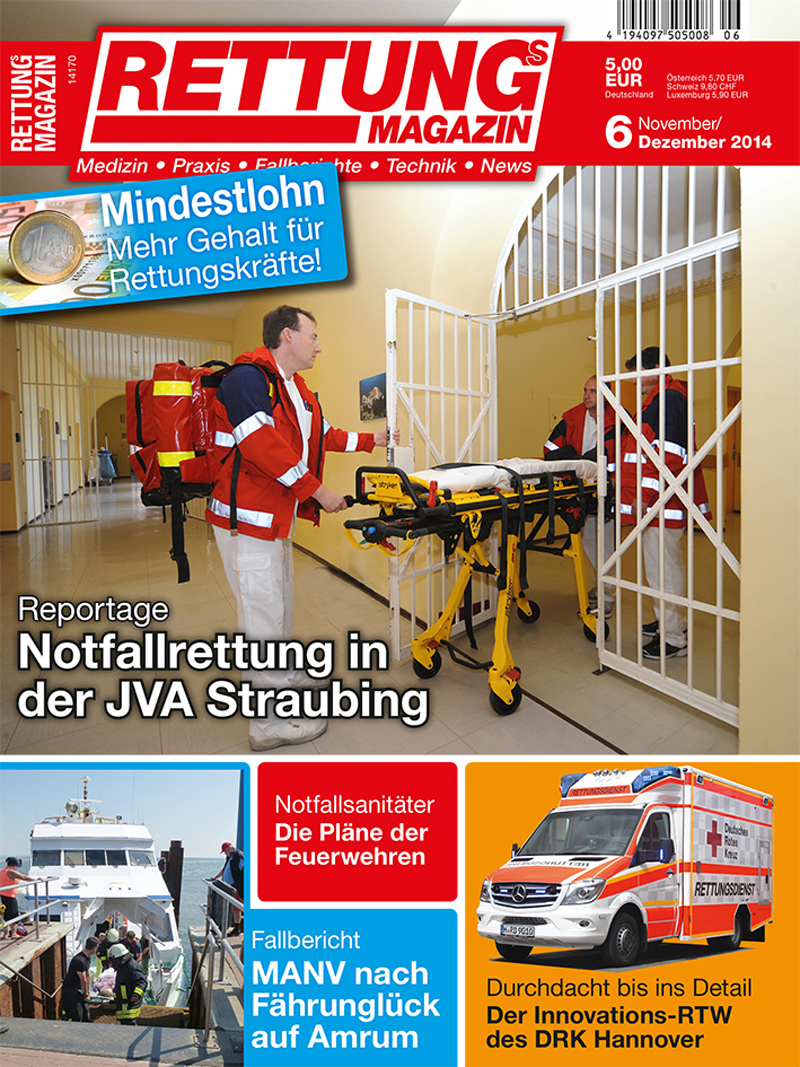 Produkt: Rettungs-Magazin Digital 6/2014