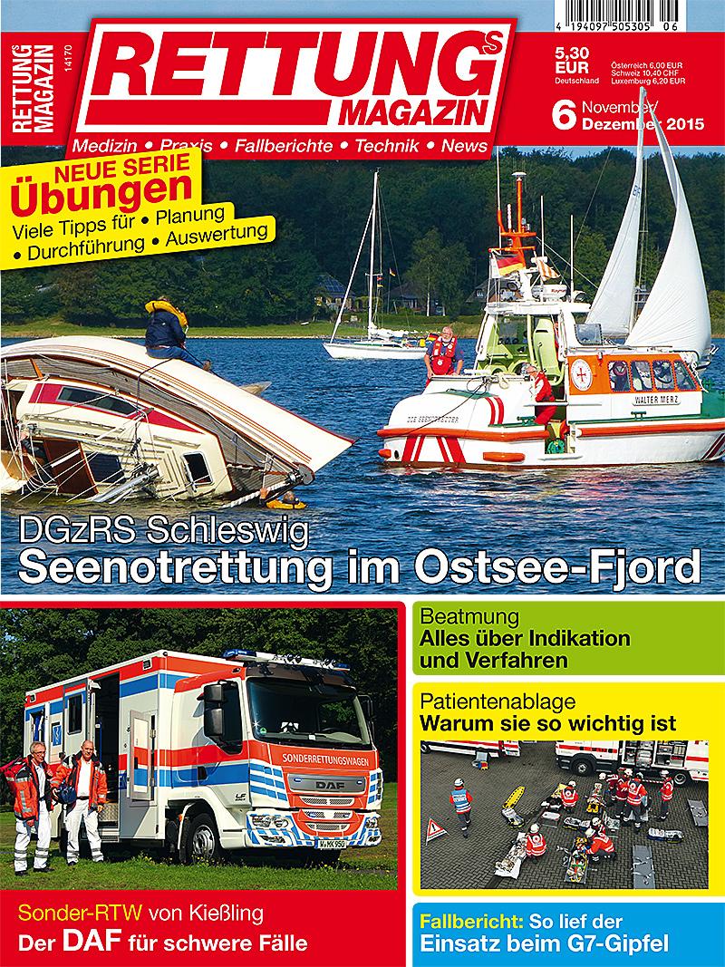 Produkt: Rettungs-Magazin Digital 6/2015