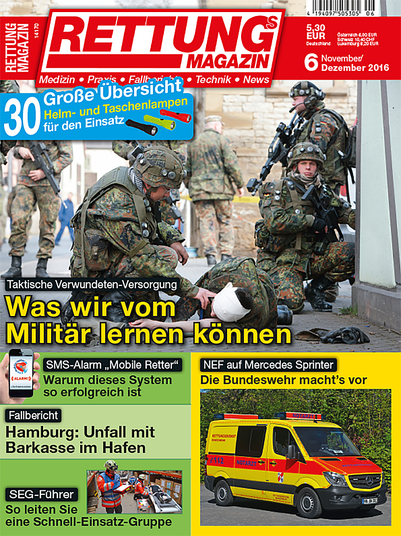 Produkt: Rettungs-Magazin 6/2016 Digital