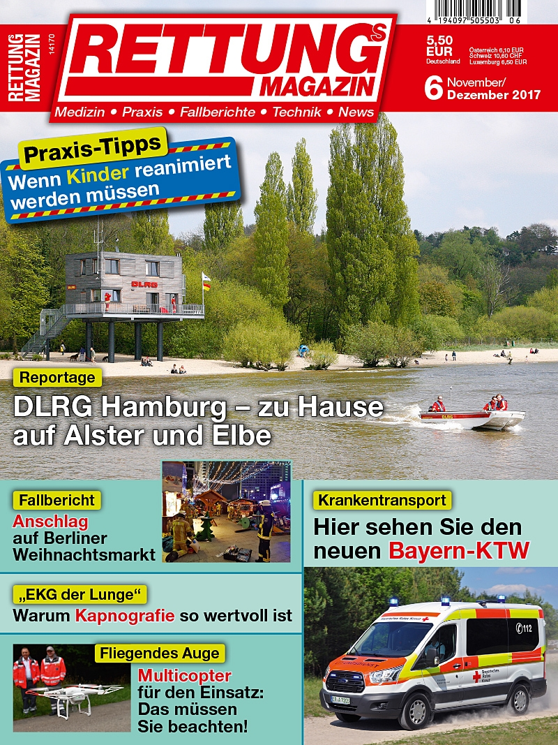 Produkt: Rettungs-Magazin Digital 6/2017