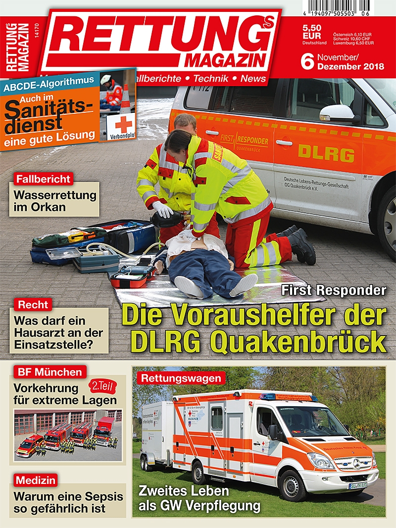 Produkt: Rettungs-Magazin Digital 6/2018