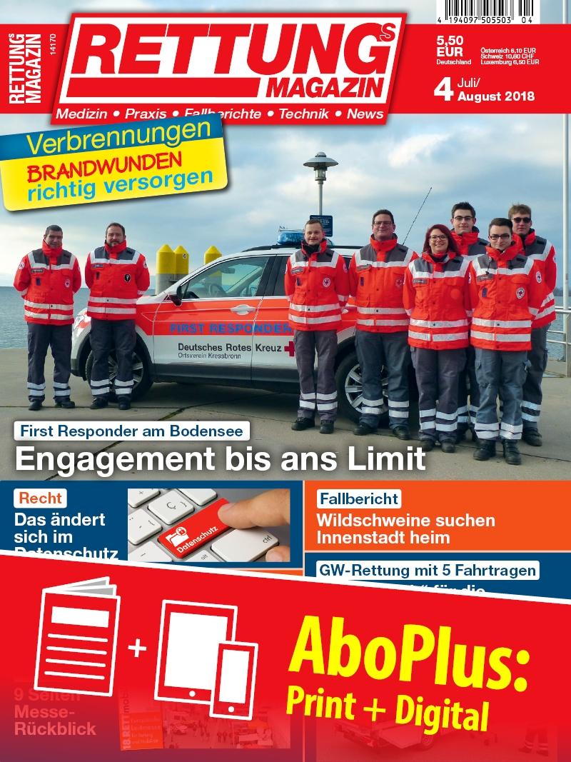 Produkt: Rettungs-Magazin AboPlus
