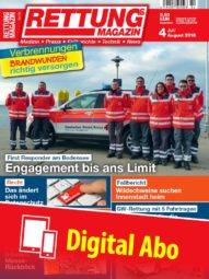 Produkt: Rettungs-Magazin Abo Digital