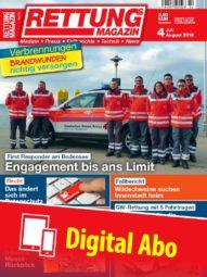 Produkt: Rettungs-Magazin Abo Digital