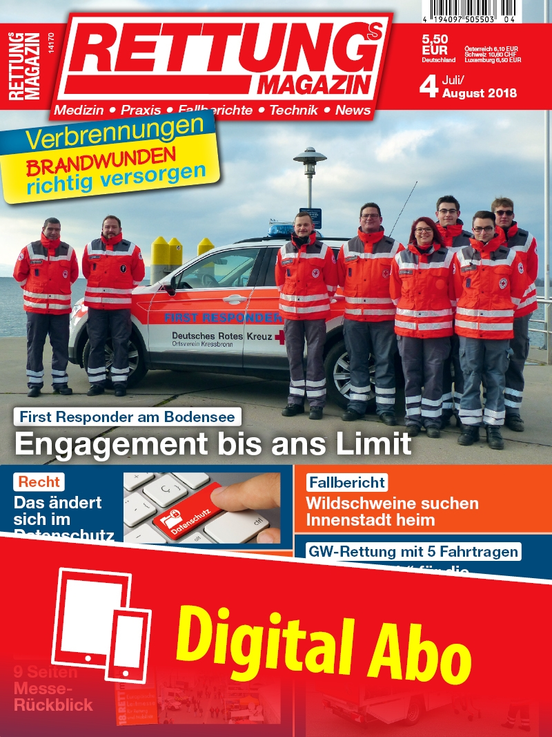 Produkt: Rettungs-Magazin Jahresabonnement Digital