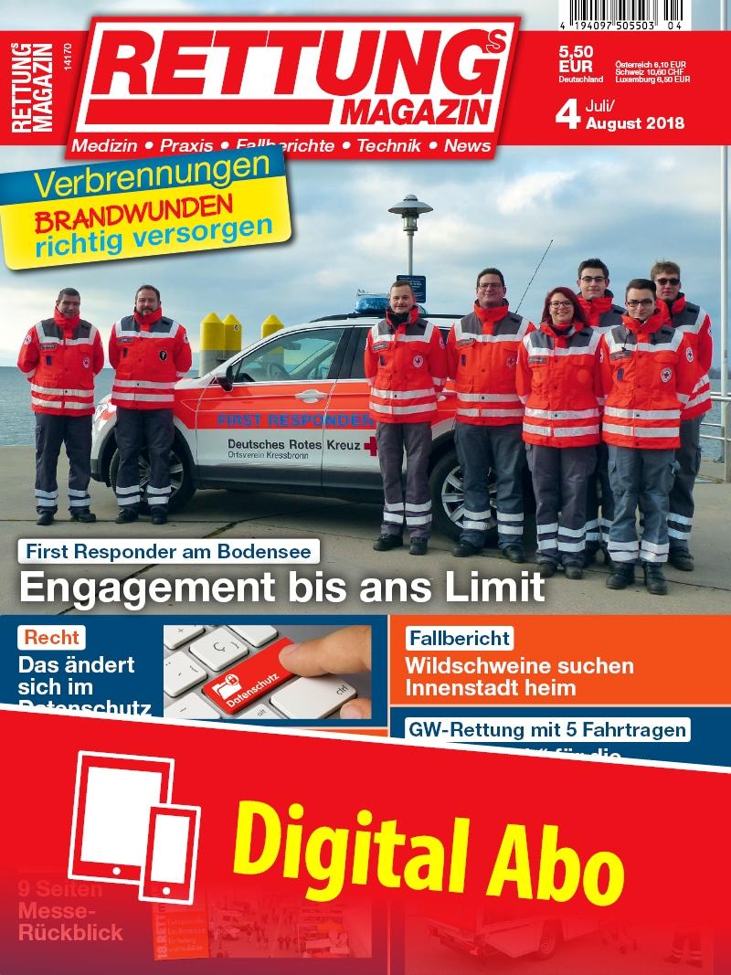 Produkt: Rettungs-Magazin Jahresabonnement Digital