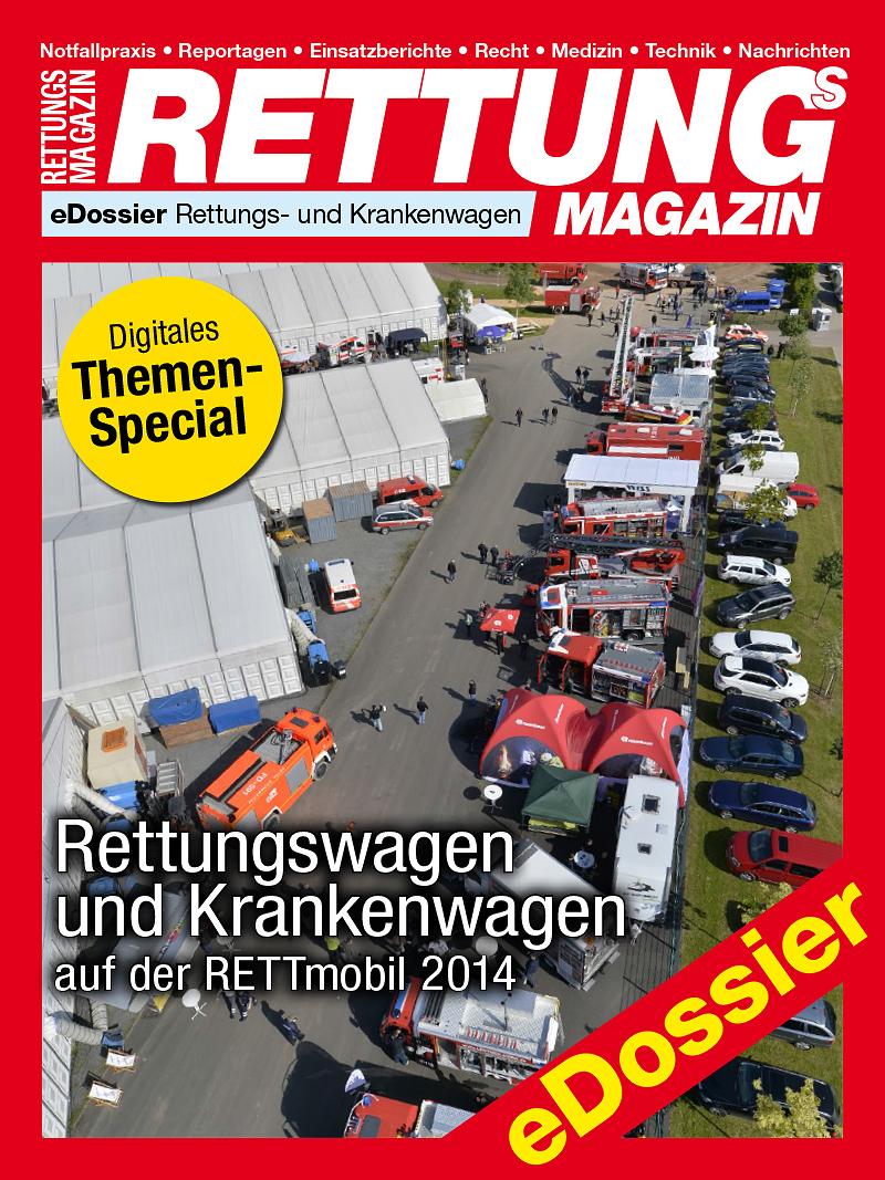 Produkt: Download Rettungswagen und Krankenwagen auf der RETTmobil 2014
