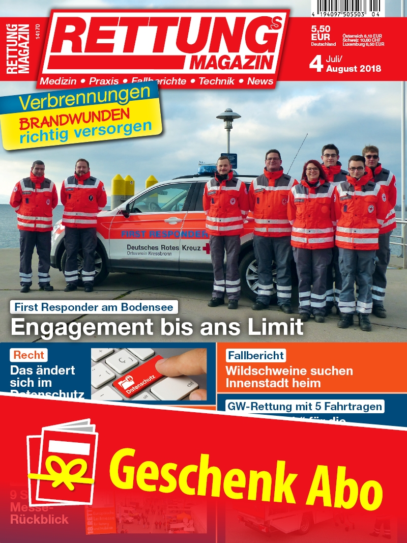 Produkt: Rettungs-Magazin Geschenkabonnement Print